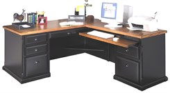 L-Shape Desk w/Right Return