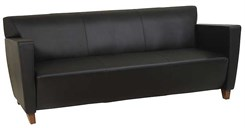 Office Star SL8473 Leather Sofa