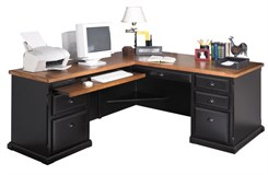 Left Hand Return Desk