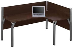 Left L-Shaped Workstation