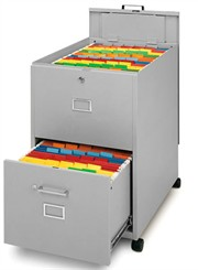 Legal Size File w/ Lid and Drawer