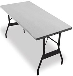 "30"" X 60"" Lightweight Aluminum Folding Table - Other Sizes Available."