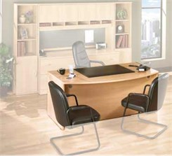 Light Oak Modular Office