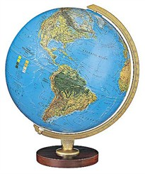 12&quot; Illuminated Livingston Globe
