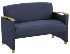 Somerset Loveseat in Standard Fabric or Vinyl