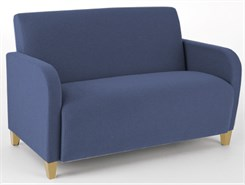 Siena Loveseat in Standard Fabric or Vinyl