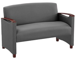 Somerset Loveseat in Upgrade Fabric or Healthcare Vinyl