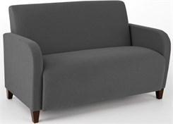 Siena Love Seat in Upgrade Fabric or Healthcare Vinyl