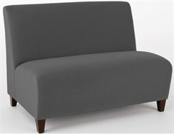 Armless Love Seat in Upgrade Fabric or Healthcare Vinyl