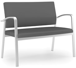 Loveseat in Upgrade Fabric or Healthcare Vinyl