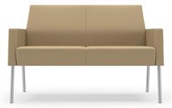 Mystic Lounge Series Panel Arm Lounge Chair