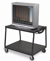 Low Wide Body AV Cart