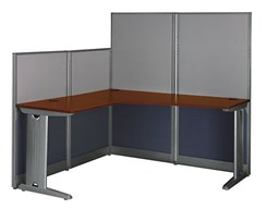 L-Shaped Cubicle Workstation