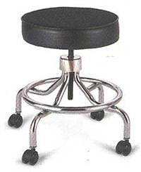 Manual Height Adjust Stool