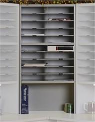 20-Pocket Corner Sorter with Riser