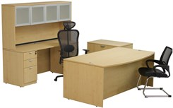 Maple Laminate 4-Piece Furniture Package