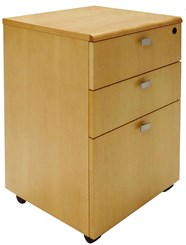Maple Mobile Drawer Pedestal