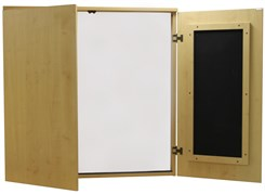 Maple Presentation Cabinet