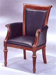Matching Straight Leg Chair