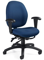 Malaga Medium Back Multi-Function Ergonomic Chair