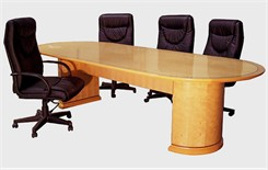 Medallion Veneer Conference Tables