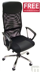 Mesh Back Office Chair - <font color=red>FREE with $1,000.00 Purchase!  Limit One.  Add to Your Cart Now!</font>