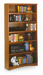 Mission Open Bookcase