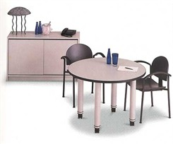 Mobile 42&quot; Round Conference Table