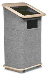 Modular Carpeted Lectern