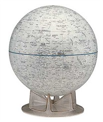 "12"" Moon Globe -- Official NASA"