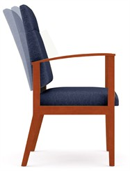 Motion Extended Back Chair  in Standard Fabric or Vinyl