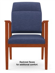 400 Lbs Bariatric Motion Extended Back Chair  in Standard Fabric or Vinyl