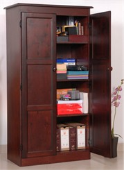 Multi Purpose Storage Cabinet In 3 Wood Finishes