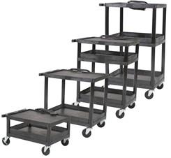 Multi-Height Resin Utility Cart