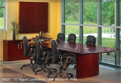 QuickShip Napoli Conference Tables - 6'  to 30'!