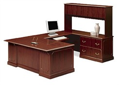 U-Shaped Executive Workstation