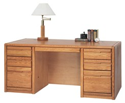 Oak Executive Desk