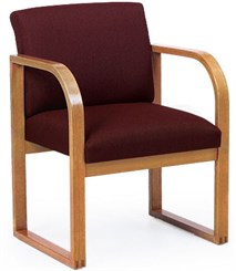 Oak Frame Conference/Guest Chair