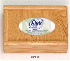Oak Glove Box Wall Racks
