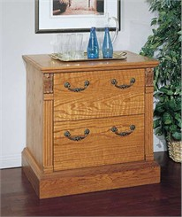 Oak Traditional Lateral File