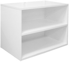 White Open Storage Unit