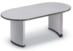 Oval Racetrack Table with Bullnose Edge