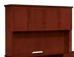 Overhead Storage Hutch w/Full Return Crown Mouldings