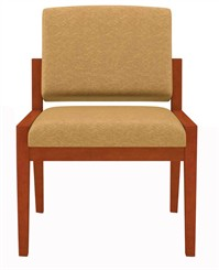 Armless Guest Chair in Standard Fabric or Vinyl