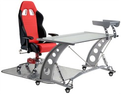 Pit Stop Racing Car Seat Office Chair