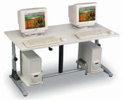 Pneumatic Height Adjustable Training Table