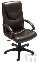 Premier Espresso Brown Leather Executive/Conference Chair