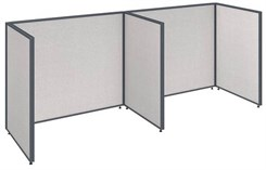 "ProPanel Office Panel Packages - 42""H 2-Person Workstation - 48""W Desk"
