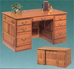 Premier Solid Oak Desk