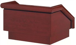 Presidential Solid Wood Tabletop Lectern